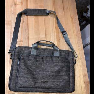 Handbags - grey laptop bag